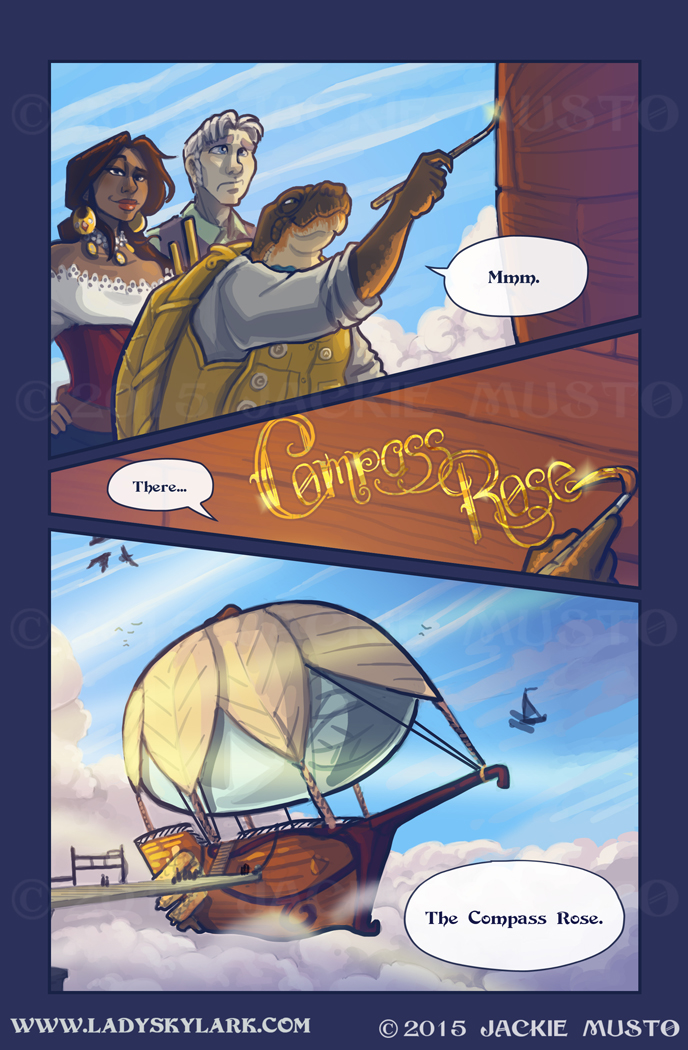 Lady Skylark and the Queen's Treasure - Page 194