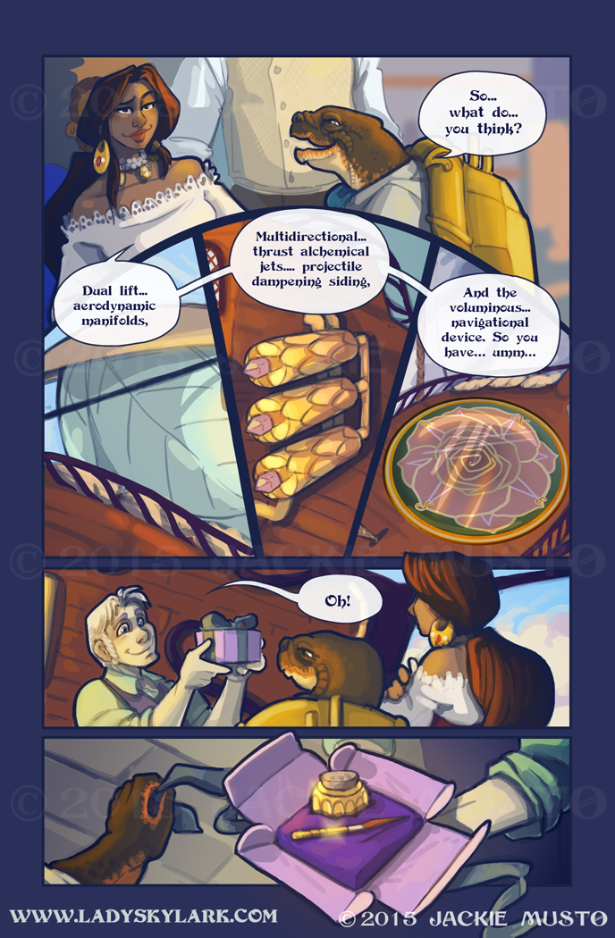 Lady Skylark and the Queen's Treasure - Page 193