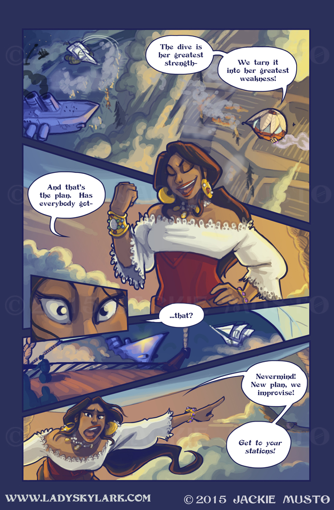 Lady Skylark and the Queen's Treasure - Page 200