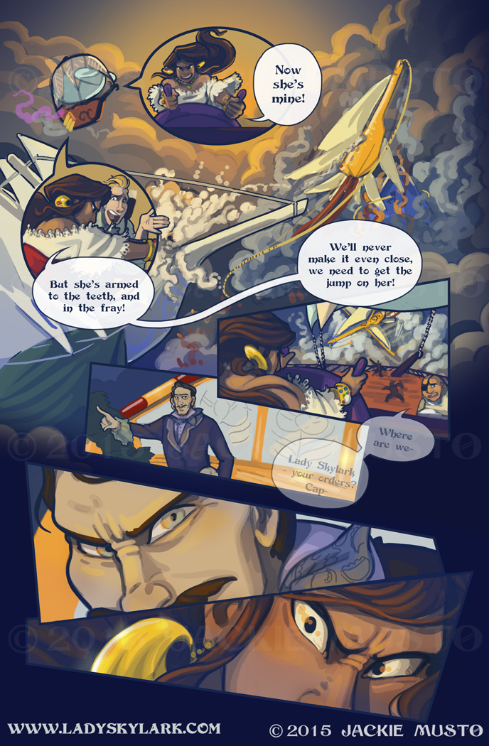 Lady Skylark and the Queen's Treasure - Page 207