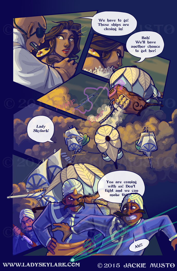 Lady Skylark and the Queen's Treasure - Page 208