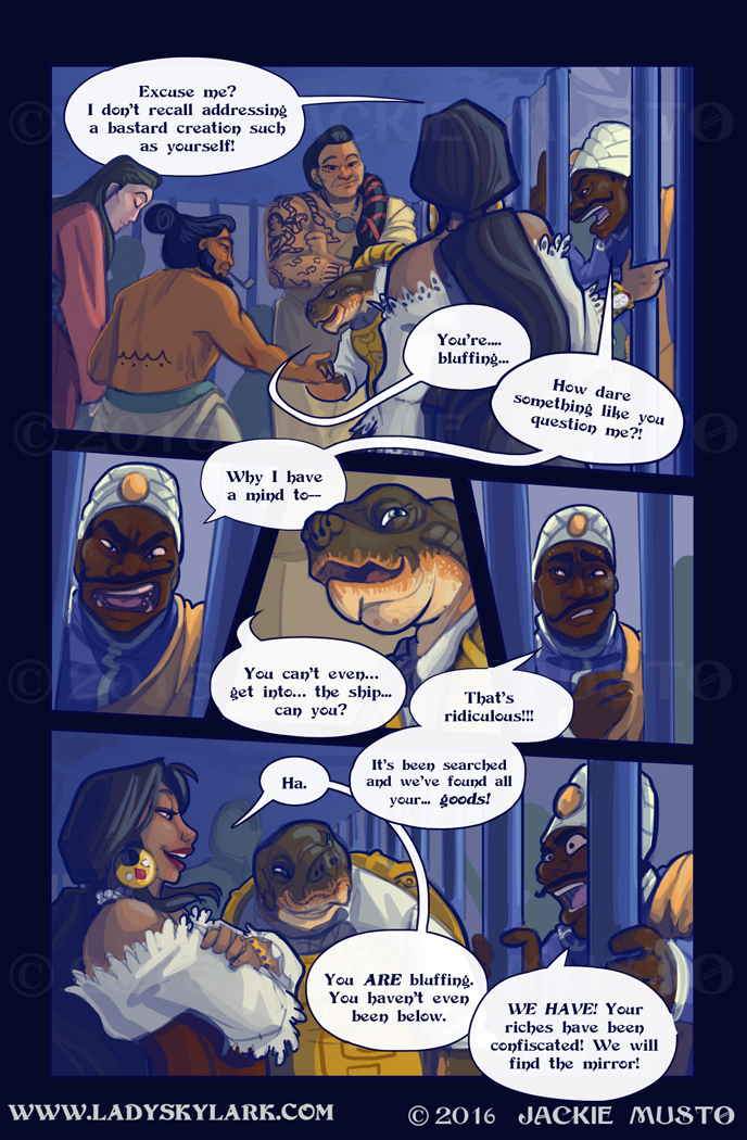 Lady Skylark and the Queen's Treasure - Page 217