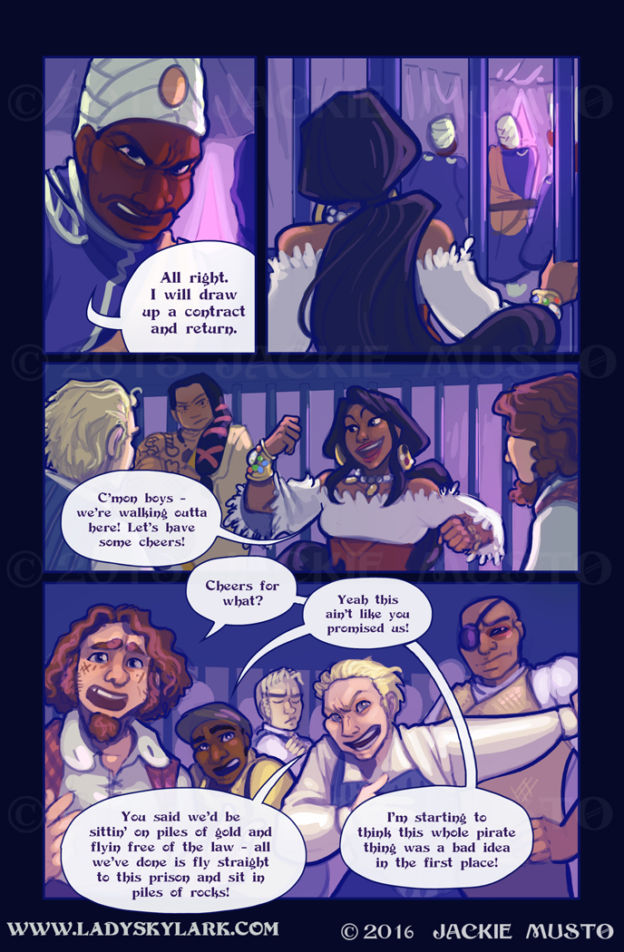 Lady Skylark and the Queen's Treasure - Page 231