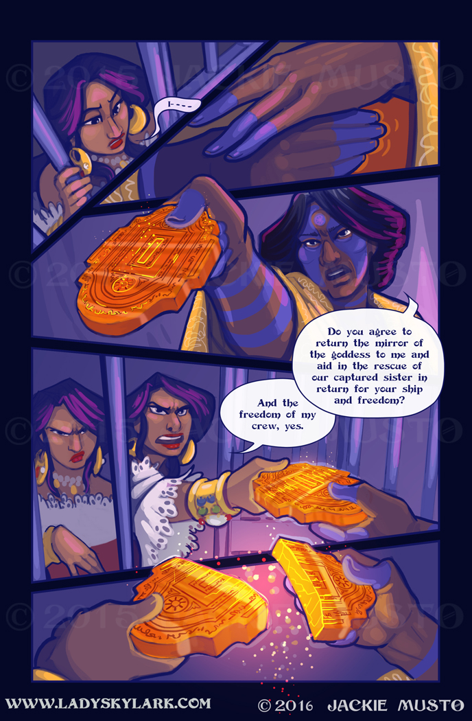 Lady Skylark and the Queen's Treasure - Page 234