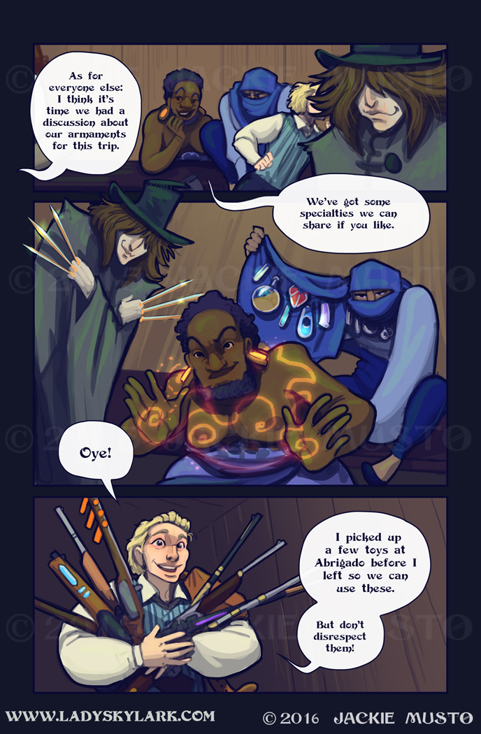Lady Skylark and the Queen's Treasure - Page 240