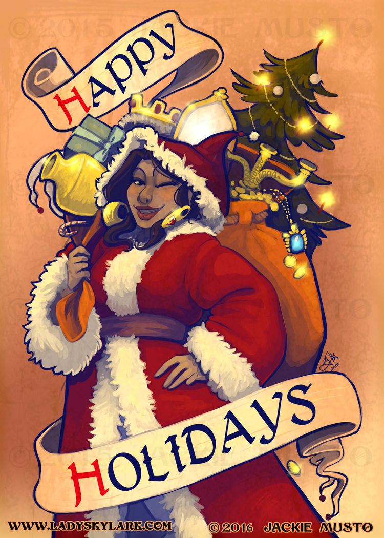 Happy Holidays from Lady Skylark!