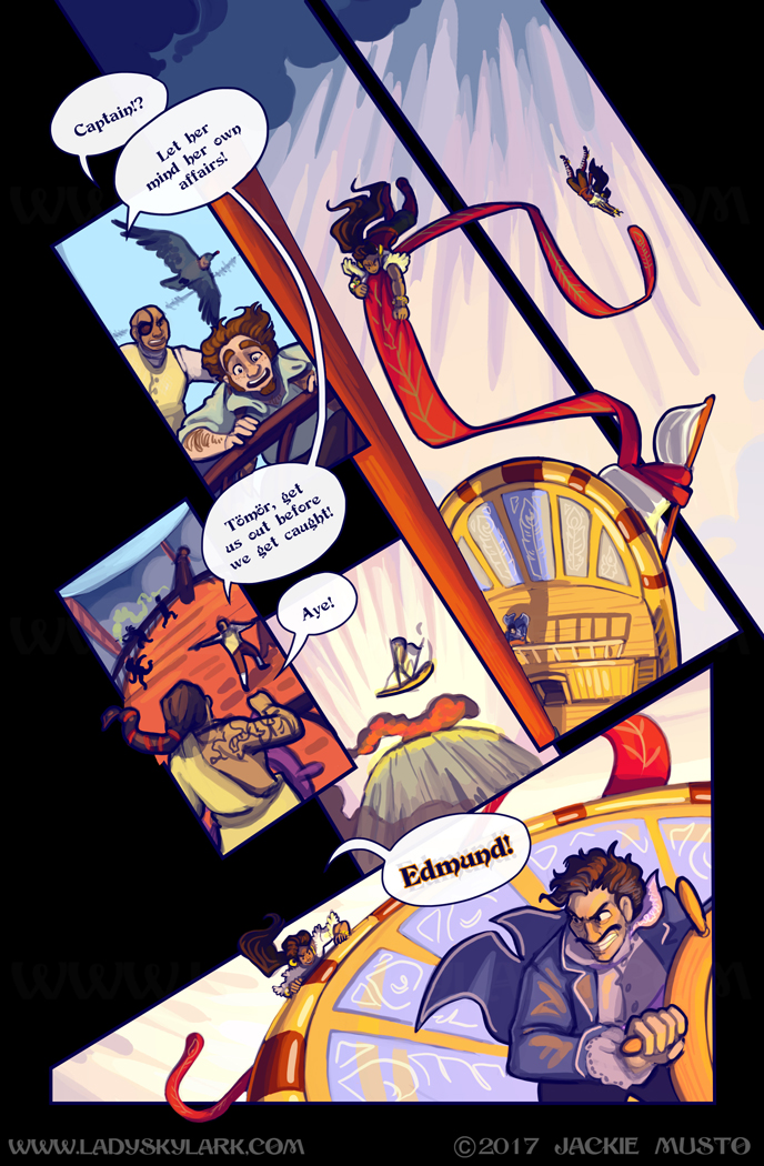 Lady Skylark and the Queen's Treasure - Page 266