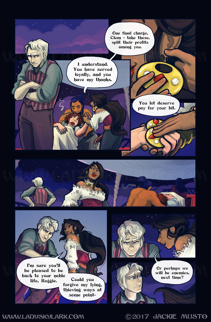 Lady Skylark and the Queen's Treasure - Page 290
