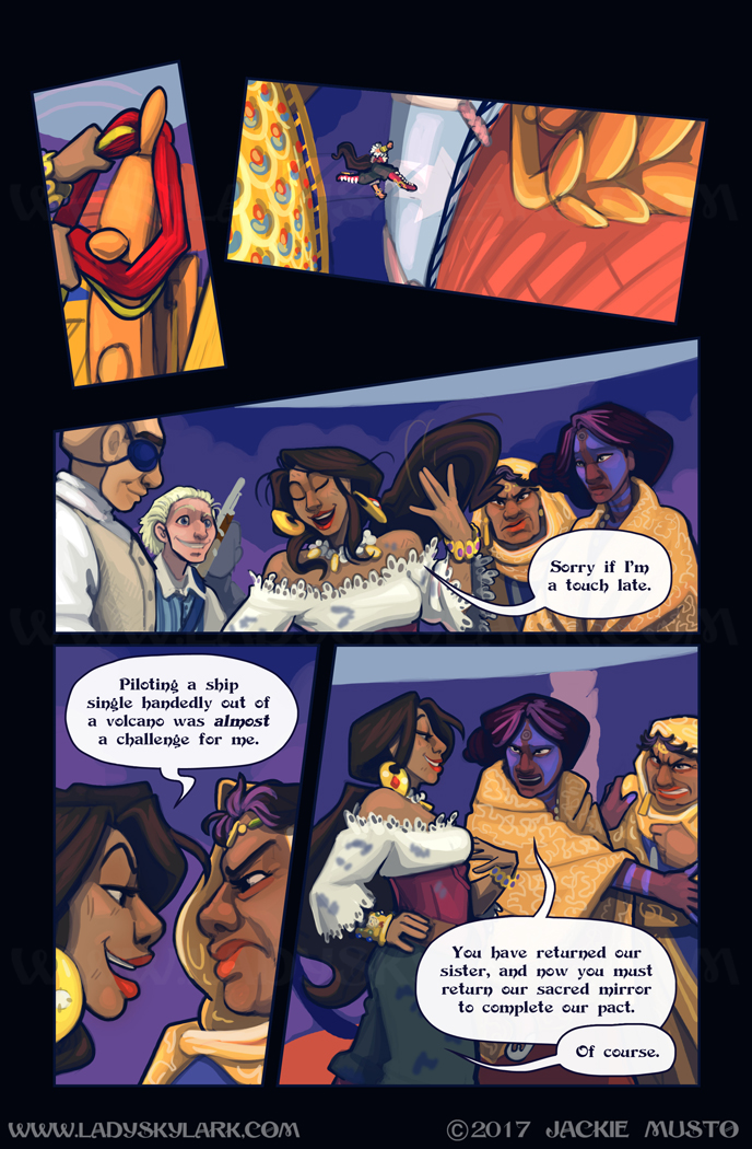 Lady Skylark and the Queen's Treasure - Page 284