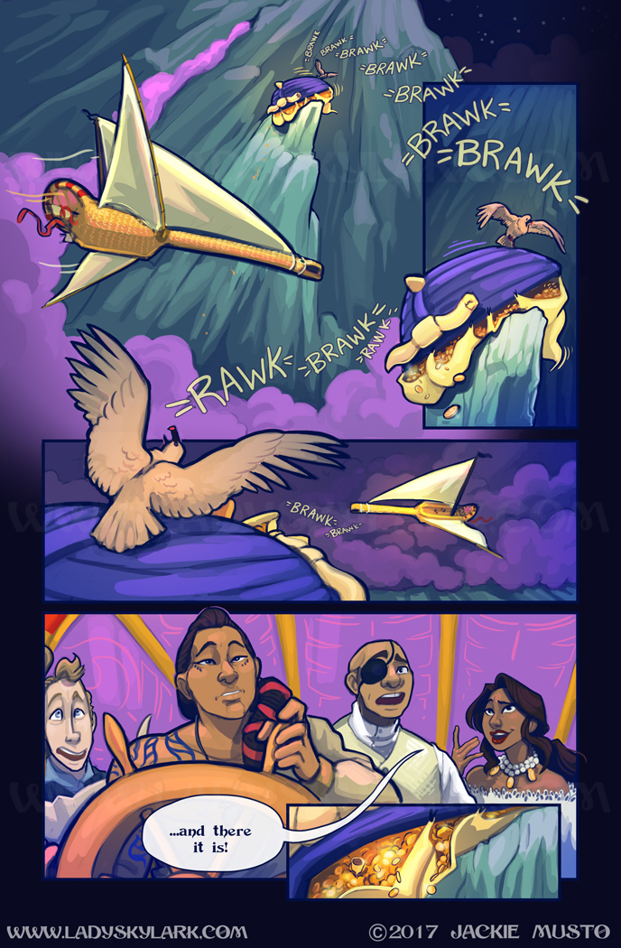 Lady Skylark and the Queen's Treasure - Page 294