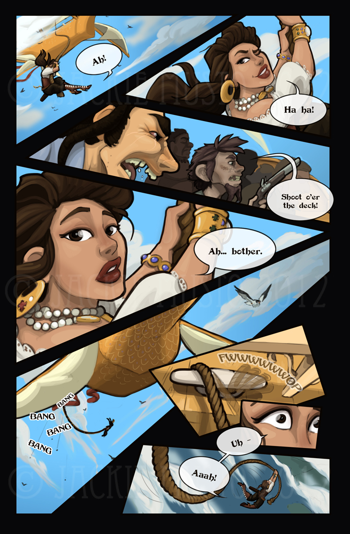 Lady Skylark and the Queen's Treasure - Page 12
