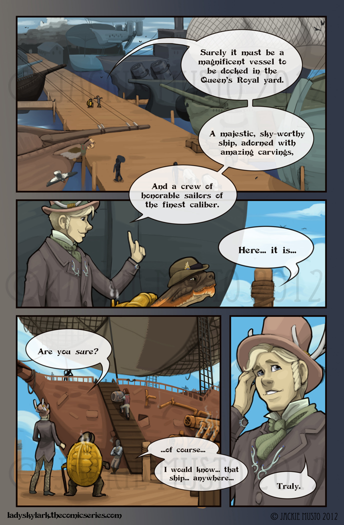 Lady Skylark and the Queen's Treasure - Page 19