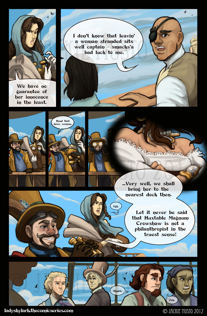 Lady Skylark and the Queen's Treasure - Page 38