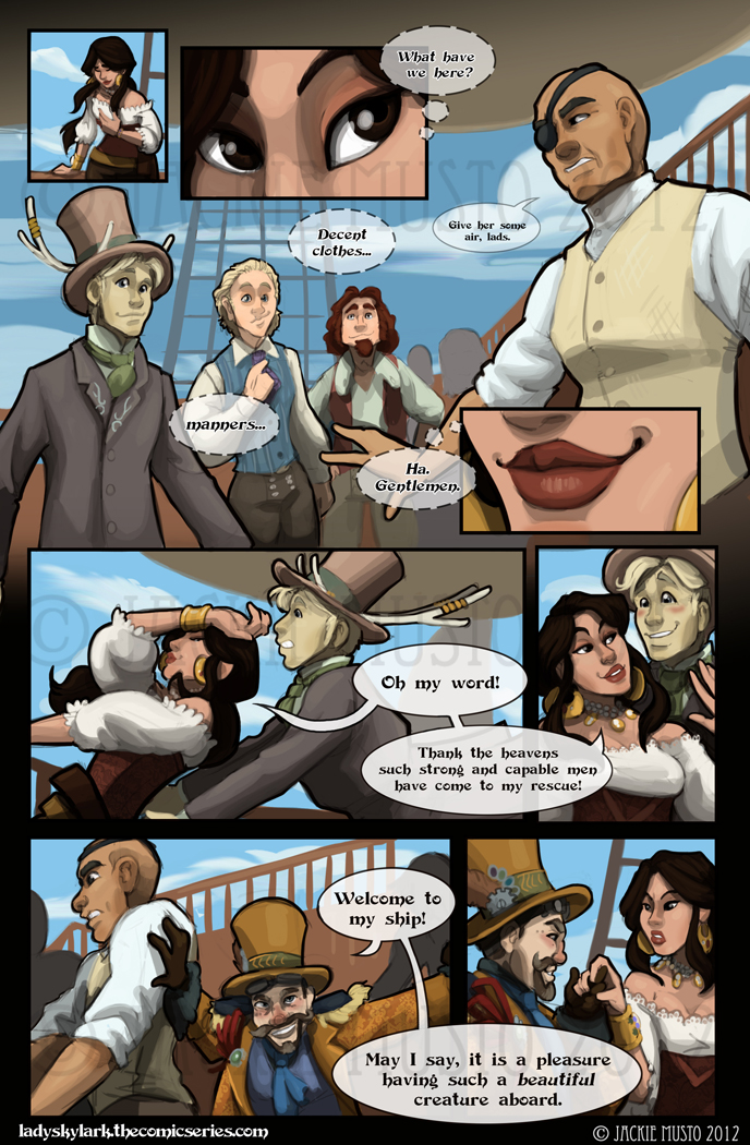 Lady Skylark and the Queen's Treasure - Page 41
