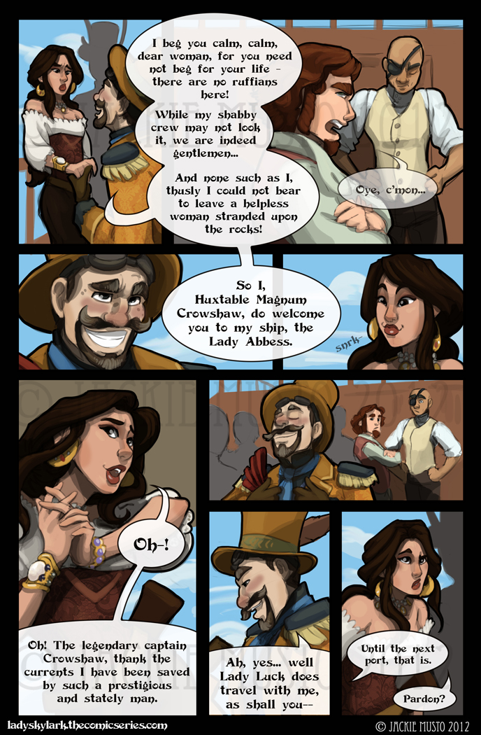 Lady Skylark and the Queen's Treasure - Page 42