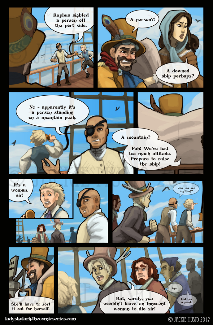 Lady Skylark and the Queen's Treasure - Page 37