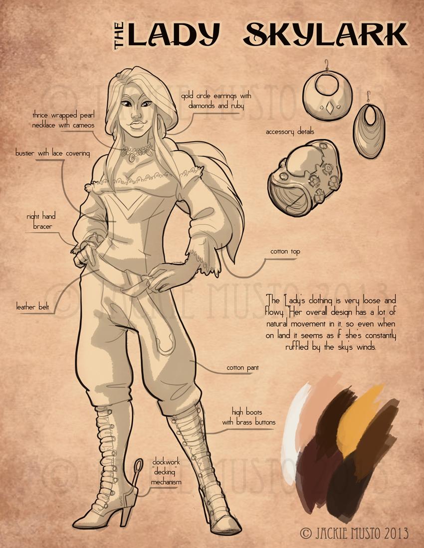 Lady Skylark, Kickstarter Bonus #1