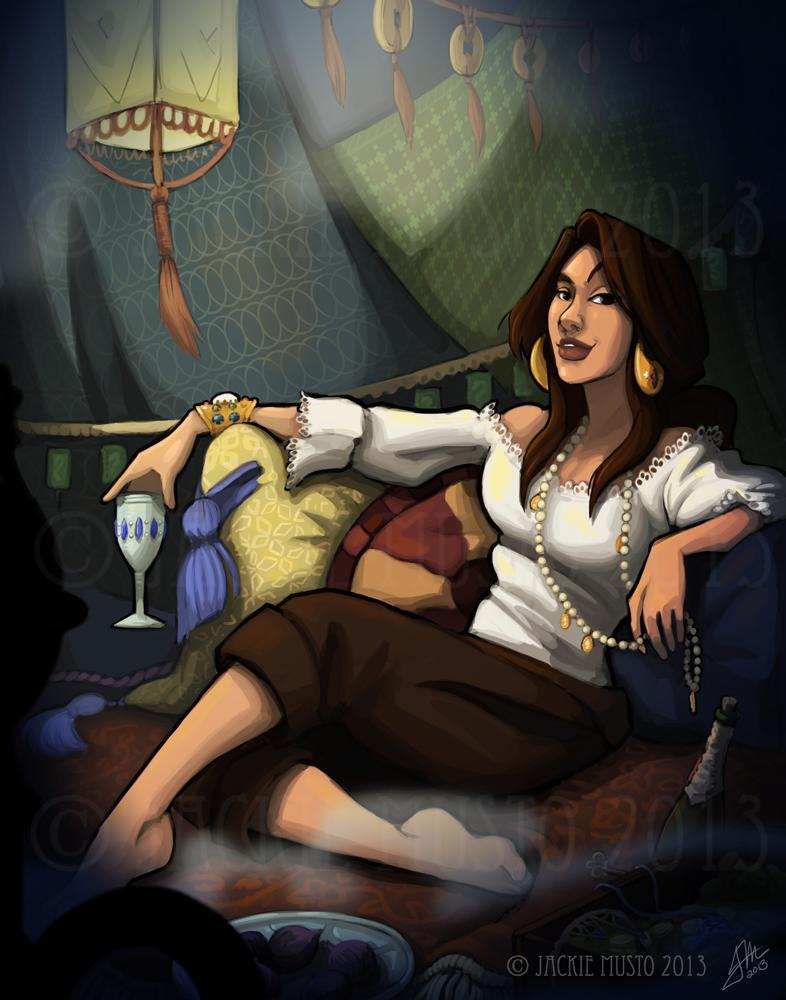Lady Skylark, Kickstarter Poster