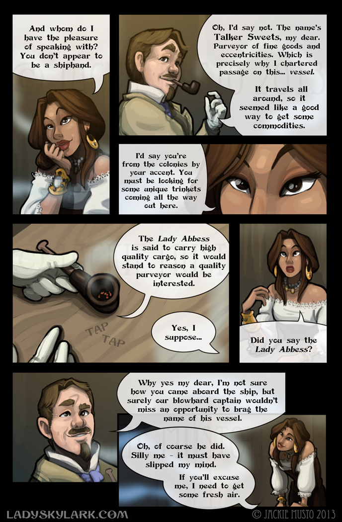 Lady Skylark and the Queen's Treasure - Page 50