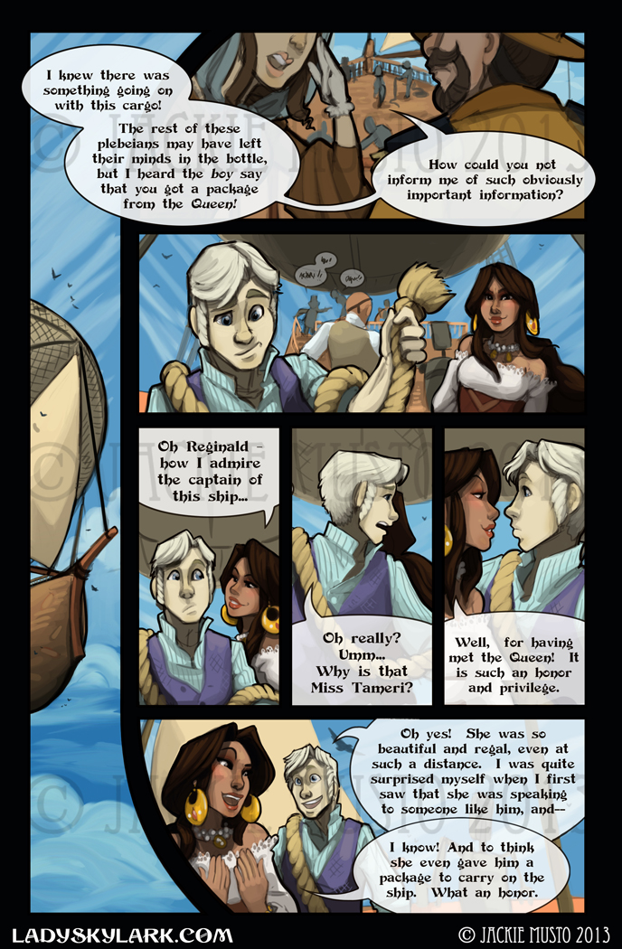 Lady Skylark and the Queen&#039;s Treasure - Page 59