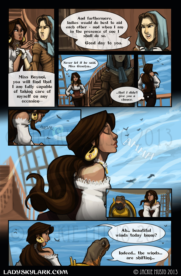 Lady Skylark and the Queen's Treasure - Page 62