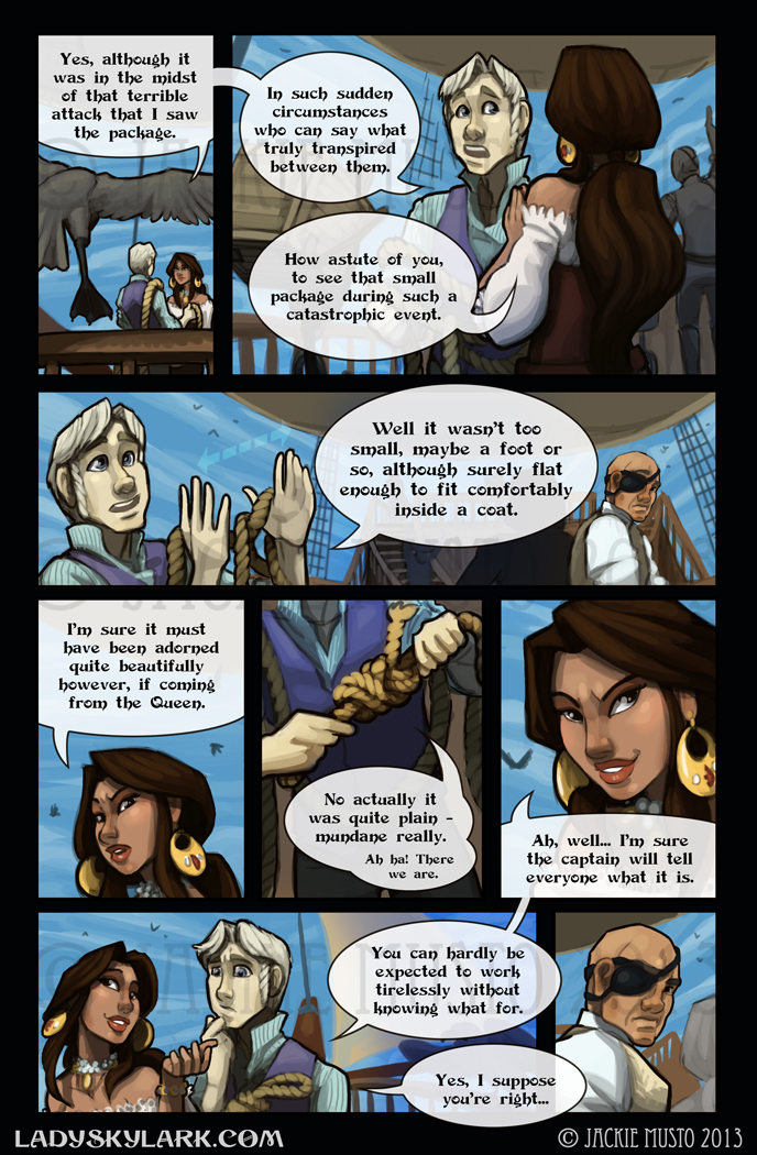 Lady Skylark and the Queen's Treasure - Page 60