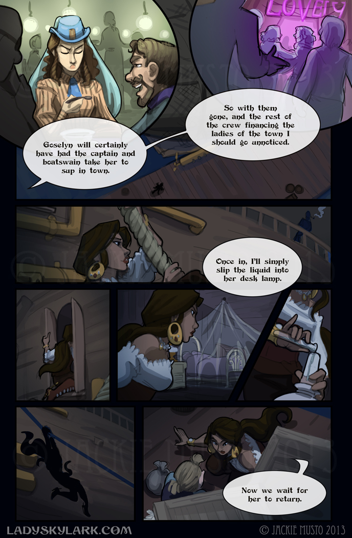 Lady Skylark and the Queen's Treasure - Page 78