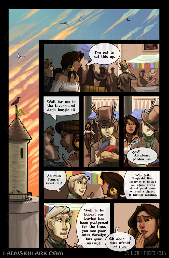 Lady Skylark and the Queen's Treasure - Page 81