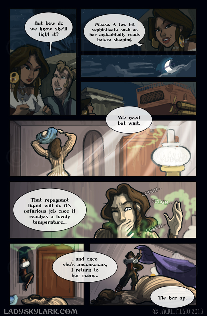 Lady Skylark and the Queen's Treasure - Page 79