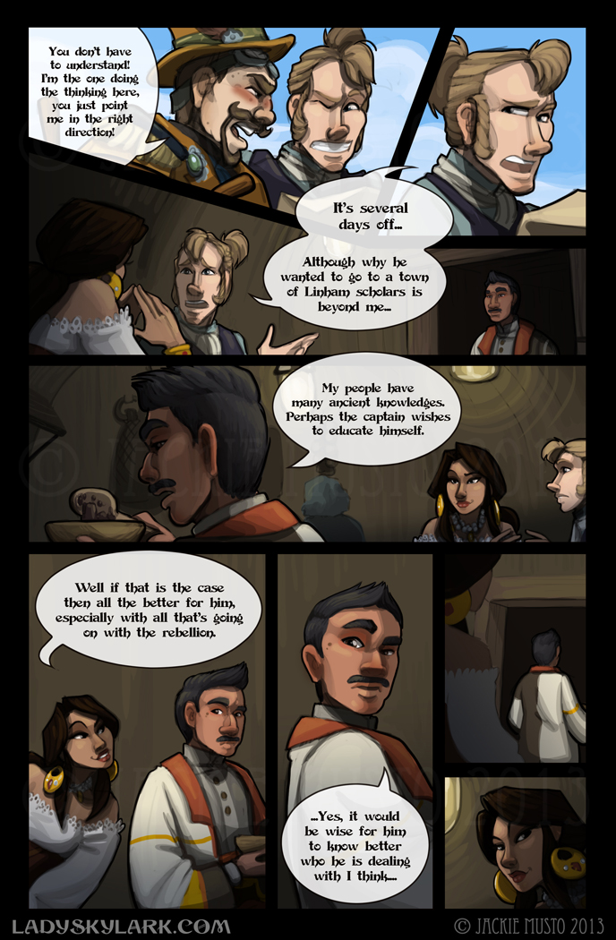 Lady Skylark and the Queen's Treasure - Page 89