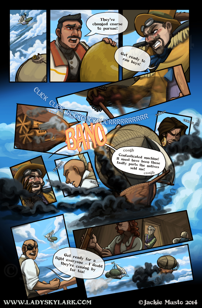 Lady Skylark and the Queen's Treasure - Page 94
