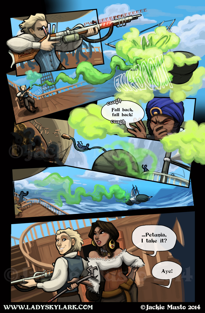 Lady Skylark and the Queen's Treasure - Page 98