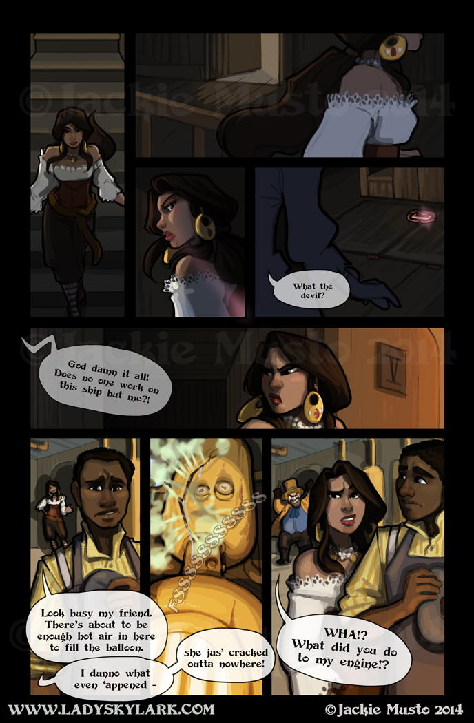 Lady Skylark and the Queen's Treasure - Page 100