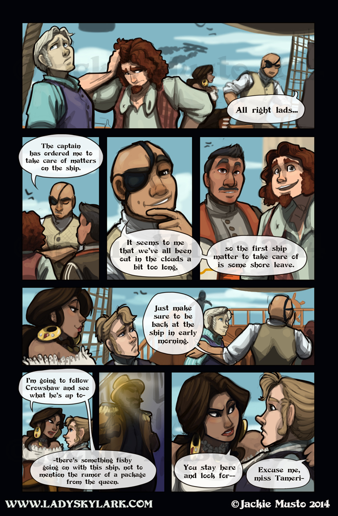 Lady Skylark and the Queen's Treasure - Page 107