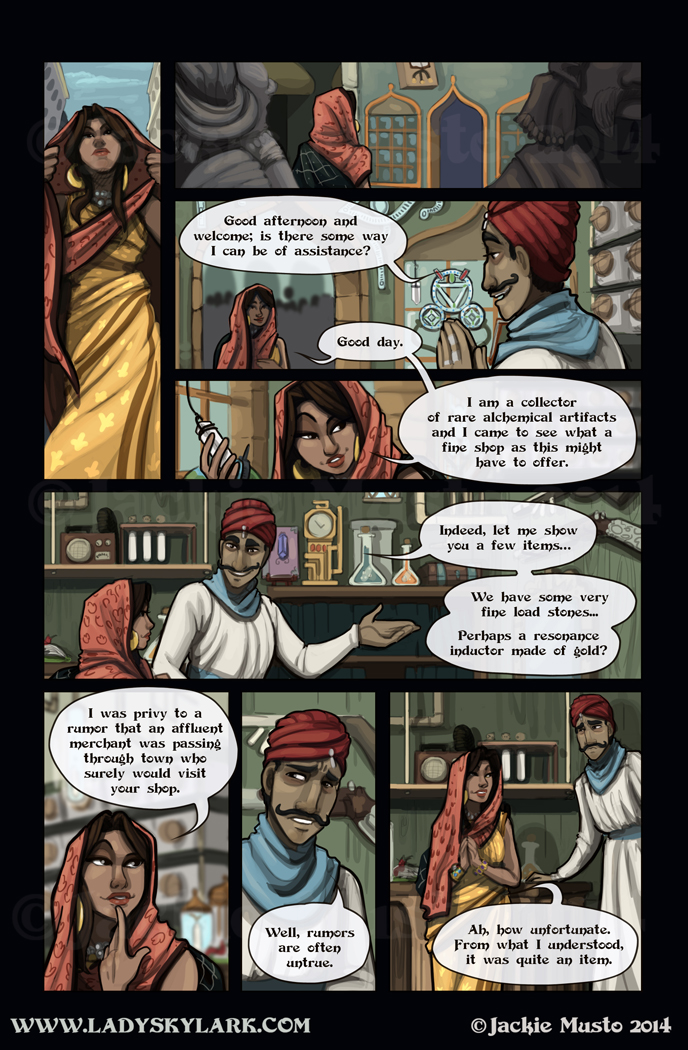 Lady Skylark and the Queen's Treasure - Page 112