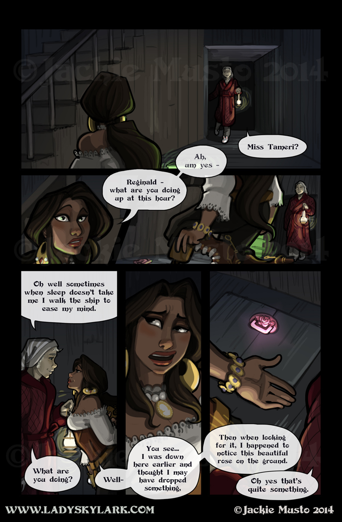 Lady Skylark and the Queen's Treasure - Page 132