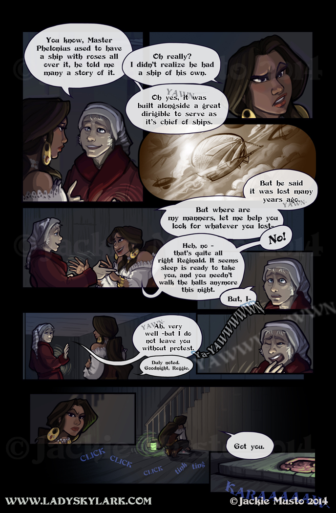 Lady Skylark and the Queen's Treasure - Page 133
