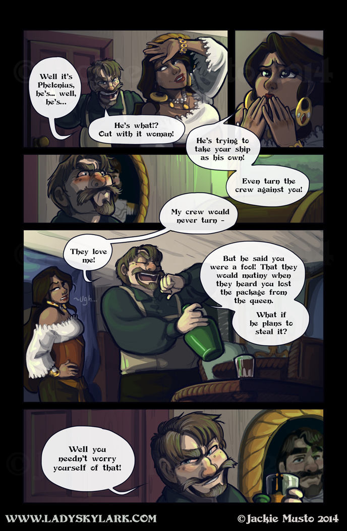 Lady Skylark and the Queen's Treasure - Page 138