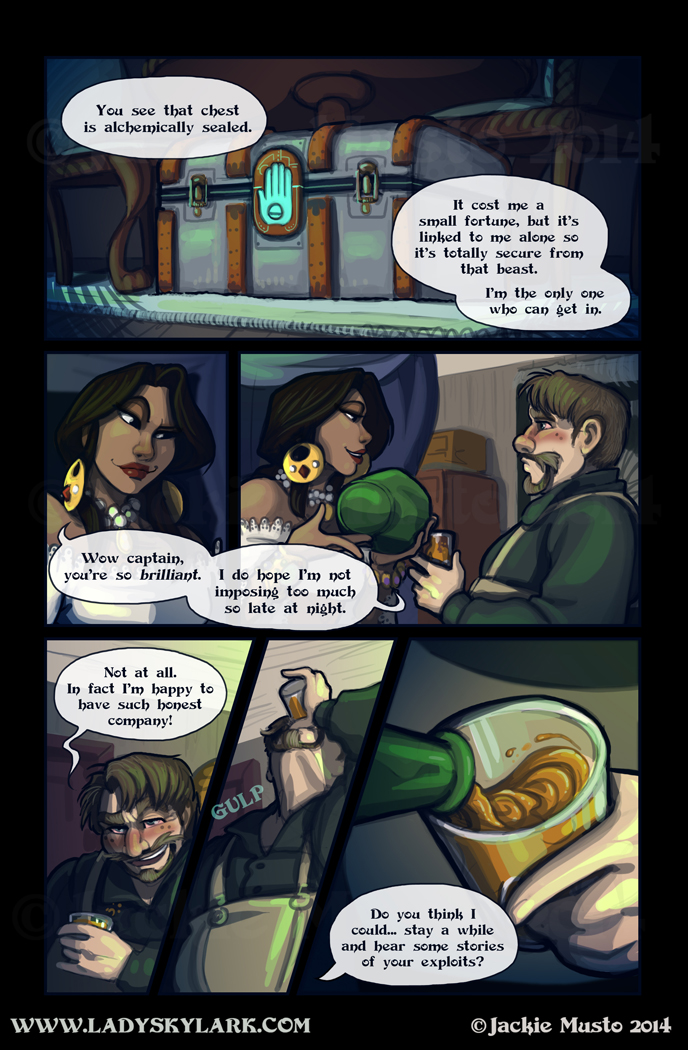 Lady Skylark and the Queen's Treasure - Page 139