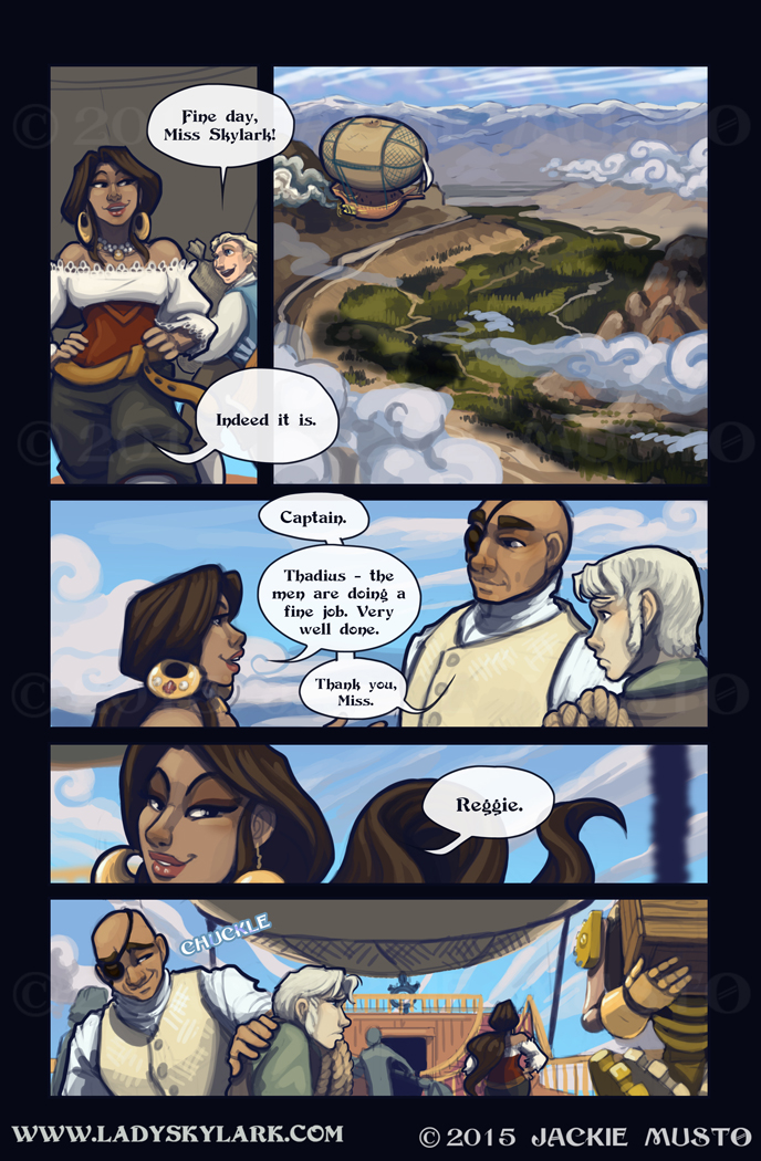 Lady Skylark and the Queen's Treasure - Page 164