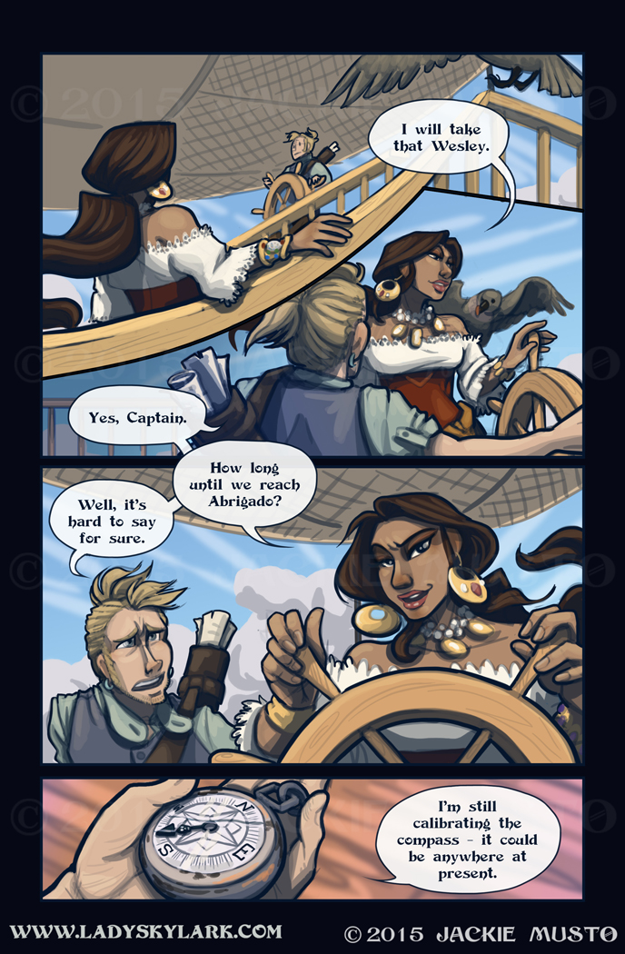 Lady Skylark and the Queen's Treasure - Page 165