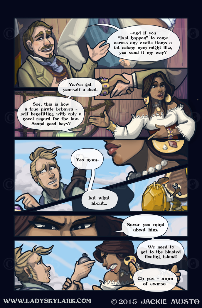 Lady Skylark and the Queen's Treasure - Page 170