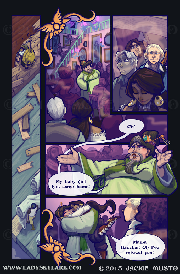 Lady Skylark and the Queen's Treasure - Page 180